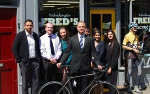 Brave employees take on City Cycle Challenge!